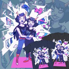 Reunited Designed by busi - Homestuck Design Contest 2 - WeLoveFine -T-shirts designed for fans by fans