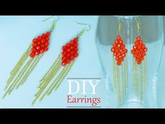 Make Quick and easy bridal earrings | DIY Beautiful earrings | Bridal jewelry design - YouTube