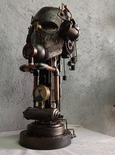The Best Steampunk Contraptions, Art & Costumes of the Week Lampe Steampunk, Steampunk Kunst, Steampunk House, Steampunk Emporium, Steampunk Artwork, Design Steampunk, Steampunk Fashion, Steam Art, Steam Punk