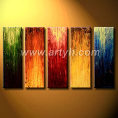 ... Oil Painting, Abstract Oil Painting, Stretched Oil Painting in