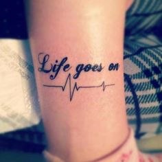 Life goes on..