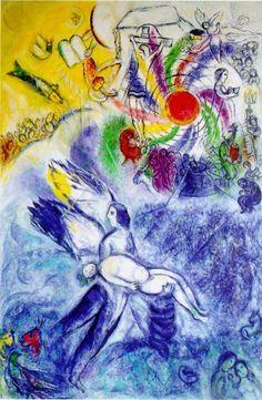 Chagall, La Création.