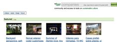 Fair Companies - community and access to tools on sustainable culture