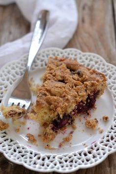 Blackberry Buckle | mountainmamacooks.com #eatseasonal