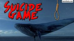 Say No.!!!.!!!The Blue Whale Game - Real Suicide Game