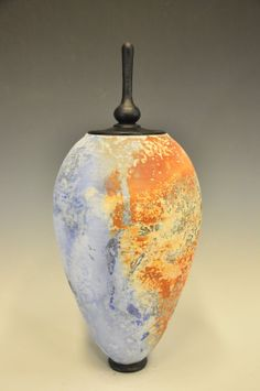 Alternative Raku Sagger Pottery - Glazed with Soluble Metal Salts  JasonPalmerArts.Wordpress.com