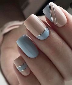 Nail Art Designs 💅 - Cute nails, Nail art designs and Pretty nails. Cute Spring Nails, Summer Nails, Summer Vacation Nails, Winter Nails, Stylish Nails, Trendy Nails, Beautiful Nail Art, Gorgeous Nails, Amazing Nails
