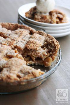 Dreena Burton's apple pie #glutenfree #vegan