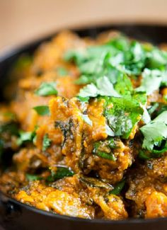 Low FODMAP & Gluten free Recipe - Chicken and spinach balti