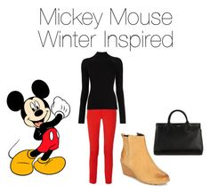 """Mickey Mouse Inspired!❤️"" by jazzrodgers ❤ liked on Polyvore featuring Disney, Michael Kors, Misha Nonoo, Timberland and Yves Saint Laurent"
