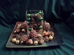Fall pinecone Decorations