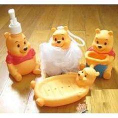 A Winnie The Pooh Bathroom What Cute Idea