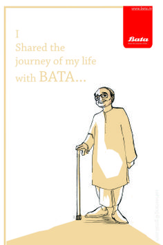 BATA advertising project by Graphic Designer Shwetang Upadhayay #batashoes #120yearsadvertising
