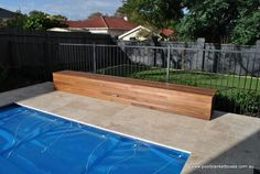 Image result for hidden pool cover reel