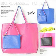Luz Llena 日本型格雙面 Tote Bag US$53.47
