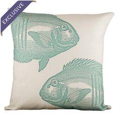 Pesce Fish Pillow
