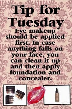 #TipTuesday I absolutely LOVE this tip! #Younique  www.youniqueproducts.com/HannahVanScoyoc