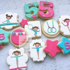 "778 Likes, 50 Comments - Natasha (@natsweets) on Instagram: ""Gymnastic cookies  #gymnastics #gymnasticparty #gymnasticcookies #natsweets #customcookies…"""