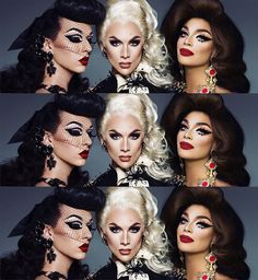 Violet Chachki, Miss Fame & Valentina / Drag Queens / RuPaul's Drag Race