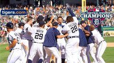Detroit Tigers AL Central Division Champs 2012!!
