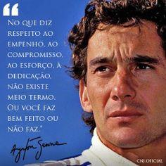 Ayrton Senna da Silva.
