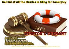 Get Rid of All the Hassles in Filing for Bankrptcy with Winston I. Cuenant