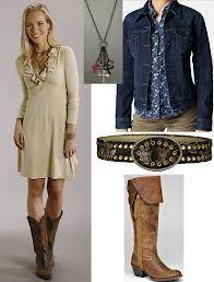 When Women Meet Cowboy Boots It's Catchy :-) | For women, Dresses ...