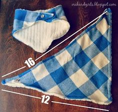 Orchard Girls: DIY Bandana Drool Bib Tutorial (TWO different styles!)