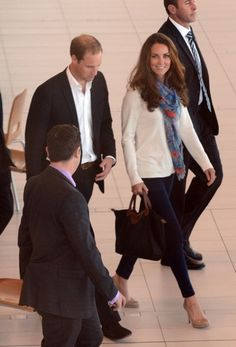 The Duke and Duchess of Cambridge arrive in Australia on their return leg to the UK after finishing their Diamond Jubilee tour of South East Asia and the South