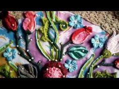 Топ на заказ*Цветочный микс* вставочка снизу топа - YouTube
