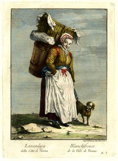 Blanchisseuse à Vien