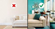 10 Erreurs fréquentes au moment de choisir les couleurs pour décorer sa maison