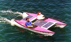 Solex 2, solar powered catamaran