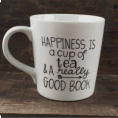 For all u book worms Each coffee mug is prepared and crafted with lots of love and dedication! Each mug you see in the pictures will LOOK AS CLOSE AS POSSIBLE to the mug you receive in the mail, not sure about the mugs? Check out the ratings and comments from previous buyers! I buy each mug plain and craft them to each design YOU chose! Other