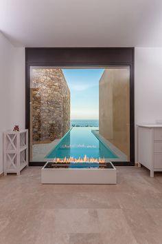 The most amazing luxury homes ever: brilliant architecture and brilliant interior design project Design Exterior, Home Interior Design, Interior Architecture, Room Interior, Swimming Pool Designs, Swimming Pools, Beautiful Pools, Dream Pools, Cool Pools