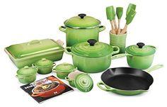 Le Creuset Palm 20-piece Cookware Set Le Creuset http://www.amazon.com/dp/B00NA3ETKG/ref=cm_sw_r_pi_dp_nASBwb16RGEXF