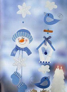 Téli dekoráció Kreatív Mánia | Kézműves blog