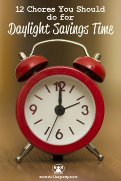 Daylight Savings Time, whether it's beginning or ending, is a great time to track those twice a year preparedness chores you need to take care of! Number 12 may really surprise you! Diy Cleaning Products, Cleaning Solutions, Cleaning Hacks, Survival Food, Emergency Preparedness, Survival Tips, White Vinegar Cleaning, Daylight Savings Time, Organizing Your Home