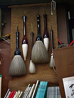 Korean Calligraphy brushes little store in Seoul, South Korea Dongdaemun Cultural District Korean Calligraphy brushes Calligraphy Tools, Japanese Calligraphy, Korean Art, Asian Art, Brooms And Brushes, Chinese Painting, Korean Painting, Japanese Painting, Chinese Art