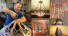 James Mattson Coppercraft. Beautiful items for sale. Expensive, as you'd expect for hand made.