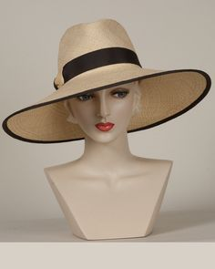 9419JRPA Jeremy, corn with brown  – Louise Green Millinery