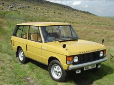 yellow raf land rover - Google Search