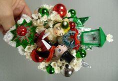 vintage christmas corsage | Vintage Christmas Corsages - VintageCorsage.com