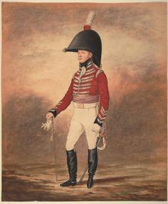 Major Christopher Farwell - 1774-1837 - 4th Royal Irish Dragoon Guards, 1805