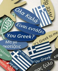 It's Greek to me! Greek Flag, Go Greek, Greek History, City Scapes, Ideal Beauty, Greece Vacation, Greek Words, In Ancient Times, Greek Quotes