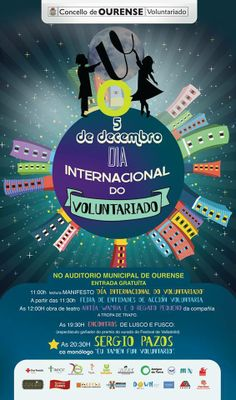 Día Mundial do Voluntariado @ Auditorio Municipal - Ourense