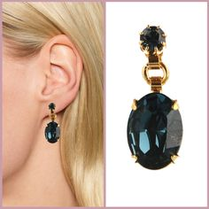 Warning: Otazu earrings are NOT for wallflowers. Express yourself with baubles as big as your style.