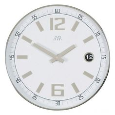 Zegar ścienny steel
