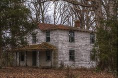 """""""Old Abandoned House in Oilville, Virginia"""" -- [Photograph by Sean Toler - March 15 2013]'h4d-148.2013'"""