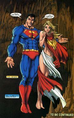 Superman & Kara Zor-EL by Michael Turner